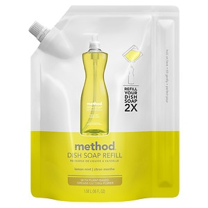 method Dish Soap Refill, Lemon Mint