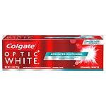 Colgate Optic White Anticavity Fluoride Toothpaste, Luminous Mint- 3.5 oz