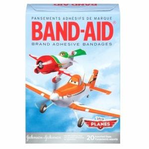 Band-Aid Adhesive Bandages, Disney's Planes, Assorted Sizes