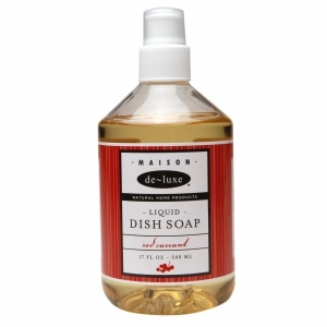 de-luxe MAISON Liquid Dish Soap, Red Currant