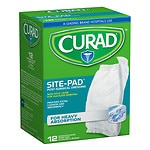 Curad SitePad Surgical Dressings, 5 in x 9 in- 12 ea
