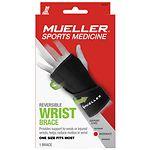 Mueller Reversible Wrist Brace, Maximum Support, Model 6723, One Size- 1 ea