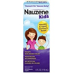 Nauzene Homeopathic Liquid, Grape- 4 fl oz
