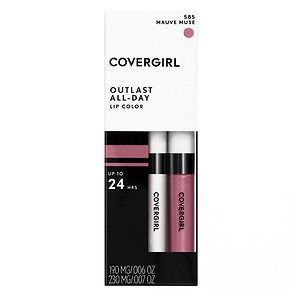 CoverGirl Outlast All Day Lipcolor, Mauve Muse 585- 1 ea