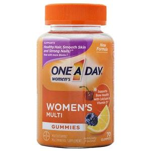 One A Day VitaCraves Women's Multivitamin Gummies, Fruit- 70 ea