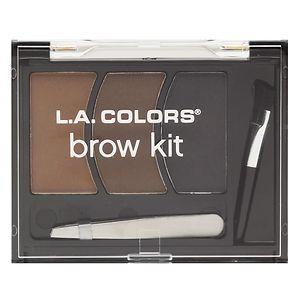 L.A. Colors Perfect Brow Kit, Medium- .12 oz