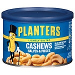 Planters Cashew Halves, Lightly Salted- 8 oz