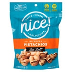 Nice! Pistachios in Shell, Sea Salt- 8 oz