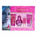 Fantasy by Britney Spears Gift Set for Women, 4 Piece