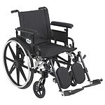Drive Medical Viper Plus GT Wheelchair w Flip Back Removable