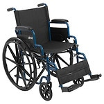 Drive Medical Wheelchair with Flip Back Desk Arms and Swing Away
