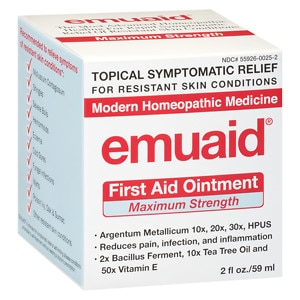 Emuaid First Aid Ointment, Maximum Strength