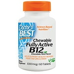 Doctor's Best Quick Melt Fully Active B12, 1000mcg, Tablets- 60 ea