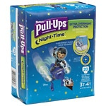 Huggies Pull-Ups Night Time Training Pants for Boys, Jumbo Pack, 3T-4T- 20 ea