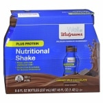 Walgreens Complete Nutritional Shake Plus Protein, 8 oz Bottles,