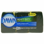 Dawn Heavy Duty Scrubber Sponges, Green/Yellow