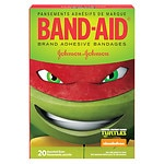 Band-Aid Bandages, Teenage Mutant Ninja Turtles- 20 ea
