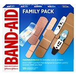 Band-Aid Bandages- 120 ea