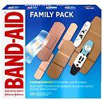 Band-Aid Bandages- 120 ea