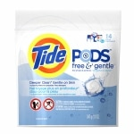 Tide PODS Laundry Detergent Pacs Free & Gentle, Unscented
