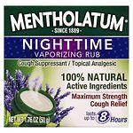 Mentholatum Nighttime Vaporizing Rub Maximum Strength Cough Relief- 1.76 oz