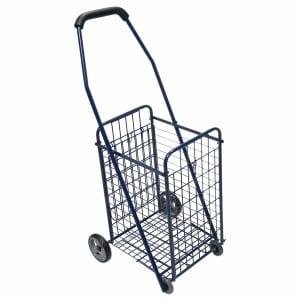 Lumex Rolling Utility Cart, Blue