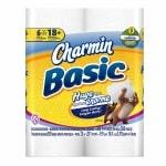 Charmin Basic Toilet Paper Huge Rolls, 6 pk- 385 sh