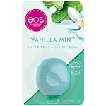 eos Visibly Soft Lip Balm Sphere, Vanilla Mint- 1 ea