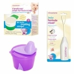 Clevamama Infant Formula Feeding Girl Pack, 3 Pc- 1 ea