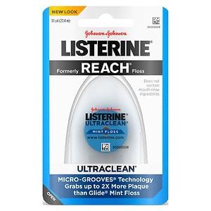 LISTERINE Ultraclean Floss, Mint- 1 ea