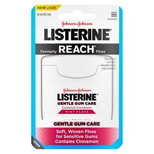 LISTERINE Gentle Gum Care, Woven Floss, Mint- 1 ea