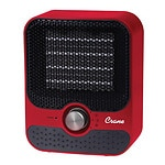 Crane USA Personal Space Heater Plastic, Red