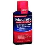 Mucinex Sinus-Max Adult Maximum Strength Nighttime Congestion &