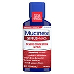 Mucinex Sinus-Max Adult Maximum Strength Severe Congestion Relief