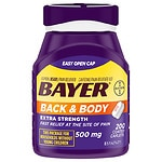 Bayer Back & Body Extra Strength Coated Caplets- 200 ea