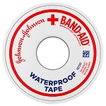 Band-Aid Waterproof Tape, 0.5 Inch- 1 ea