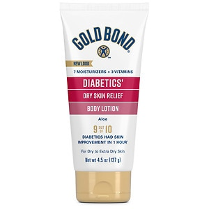 Gold Bond Ultimate Diabetic Dry Skin Relief Lotion, Fragrance Free