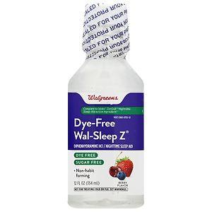 Walgreens Wal-Sleep Z Aid, Berry