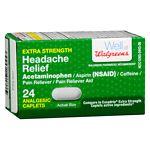 Walgreens Headache Relief Extra Strength Caplets- 24 ea