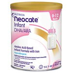 Nutricia Neocate Infant DHA/ARA, Amino Acid Based with Iron Powdered Infant Formula, Unflavored, 0-12 Months- 14.1 oz