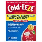 Cold-Eeze Cold Remedy Lozenges, Sugar Free, Cherry