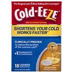 Cold-Eeze Cold Remedy Lozenges, Honey Lemon- 18 ea