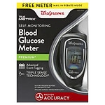 Walgreens True Metrix Blood Glucose Meter, Black- 1 ea