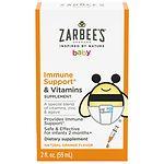 ZarBee's Naturals Baby Immune Support +Vitamins, Orange