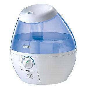 Vicks Mini Filter Free Cool Mist Humidifier, White