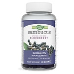 Nature's Way Sambucus Standardized Elderberry Gummies- 60 ea