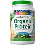 Purely Inspired 100% Plant-Based Protein Nutritional Shake, Vanilla- 1.5 lbs
