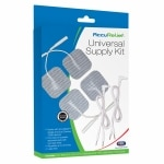 AccuRelief Universal Supply Kit 4x4 Pack of Electrodes and 2 Lead