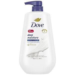 Dove Deep Moisture Pump Body Wash