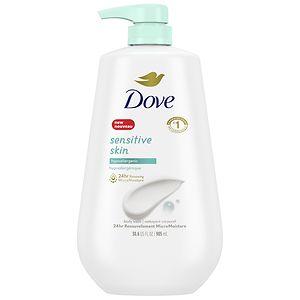 Dove Body Wash Sensitive Skin Pump, 34 fl oz